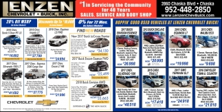 #1 in Servicing the Community for 40 years, Sales, Service and Body Shop