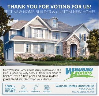 Best New Home Builder And Custom New Home!