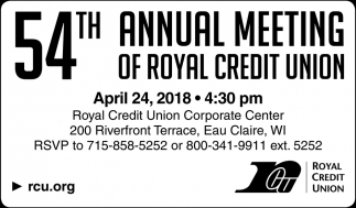 54th Annual Meeting