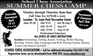 Summer Chess Camp