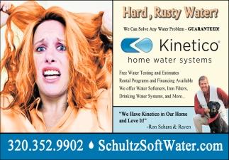 Hard, Rusty Water?