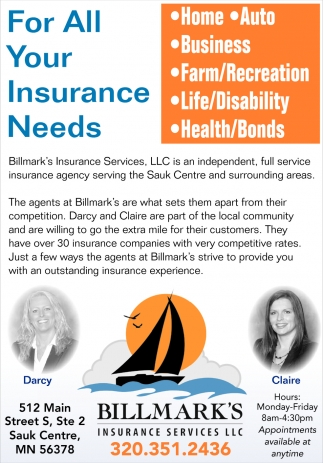 For all your insurance needs!