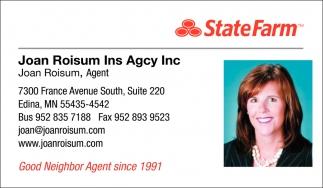 Good Neighbor Agent Since 1991