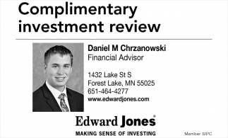Complimentary invest review