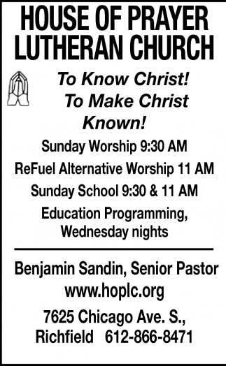 To Know Christ! To Make Christ Known!
