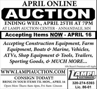 April Online