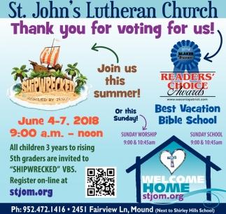 Best Vacation Bible School, St  John's Lutheran Church
