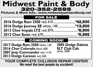 Your Complete Collision Repair Center