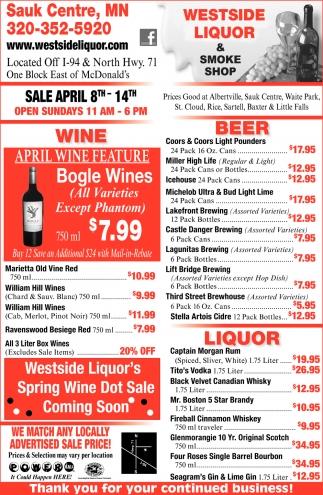 April Wine Feature