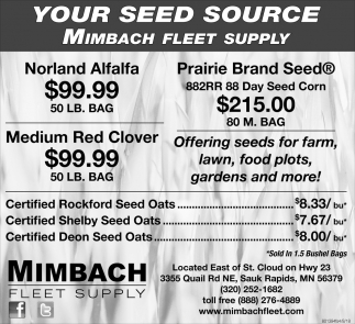 Your Seed Source