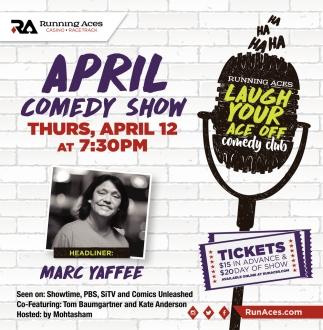 April Comedy Show