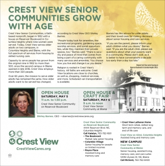 Crest View Senior Communities Grow With Age