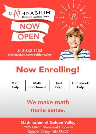We Make Math Make Sense