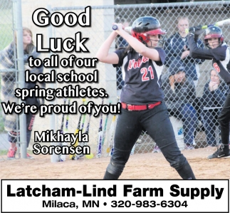 Latcham-Lind Farm SupplyGood Luck to All of our Local School Spring Athletes