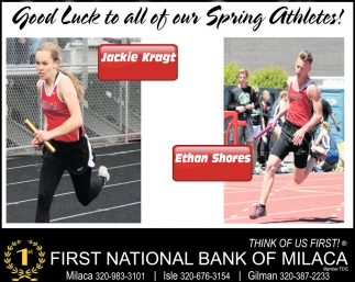 Good Luck to all of our Spring Athletes