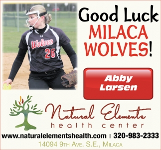Good Luck Milaca Wolves