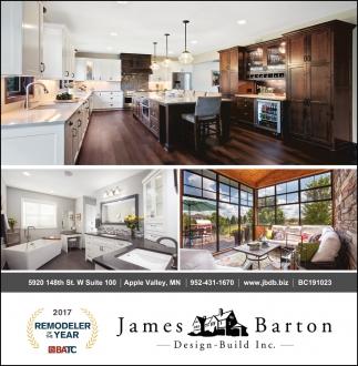 James Barton Design Build, JAMES BARTON DESIGN BUILD, Apple Valley, MN