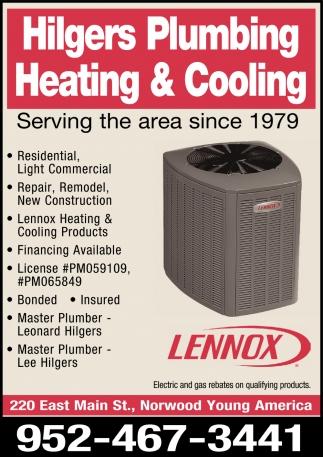 Hilgers Plumbing Heating & Cooling