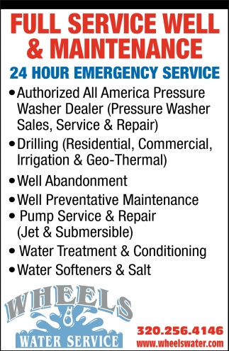 Full Service Well & Maintenance