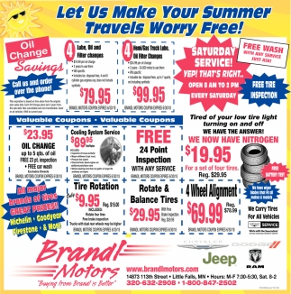 Lets us Make Your Summer Travels Worry Free