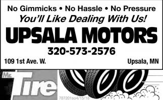 UPSALA MOTORS INC