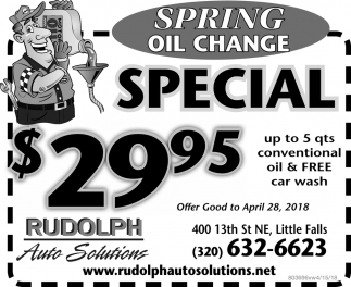 Spring Oil Change
