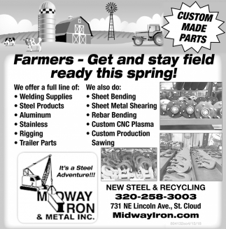 Farmers - Get and Stay Field Ready this Spring