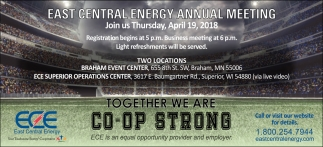 Together we are Co-op Strong