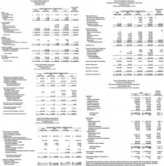 Statement of Revenues