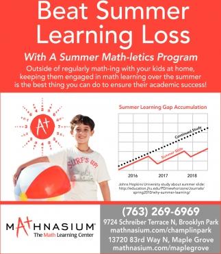Beat Summer Learning Loss