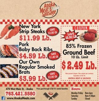 Anoka Meat & Sausages