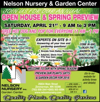 Nelson Nursery & Garden Center