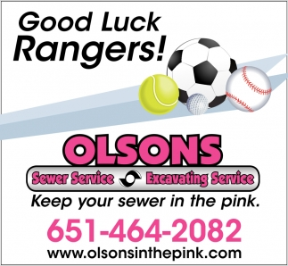 Good Luck Rangers!