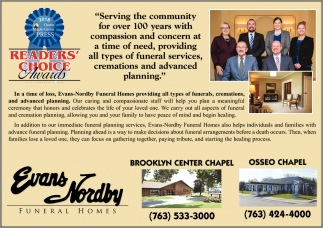 Serving the Community for Over 100 Years