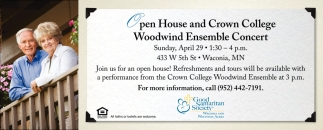 Crown College Woodwind Ensemble Concert