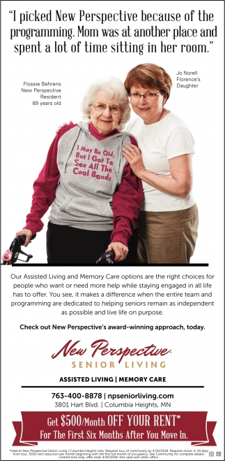 Check Out New Perspective's Award-Winning Approach, Today!