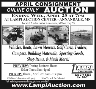April Consignment