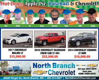 Our Opening Day Line Up is Priced to Score you Big Savings
