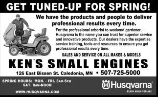 Get Tune-up for Spring!