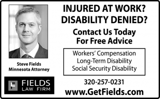 Injured At Work?