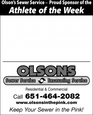 Proud Sponsor of the Athlete of the Week