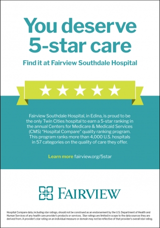 You Deserve 5-star Care