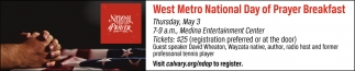 West Metro National Day of Prayer