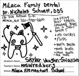 Dr. Nicholas Schuett, DDS.