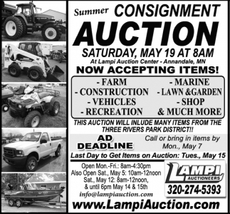 Summer Consignment Auction