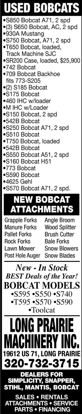 Used Bobcats