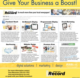 Give Your Business a Boost