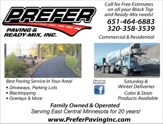 Paving And Ready-Mix Inc