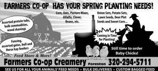 Has your Spring Planting Needs!