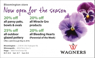 Wagners Garden Center Bloomington Wagners Garden Center Bloomington